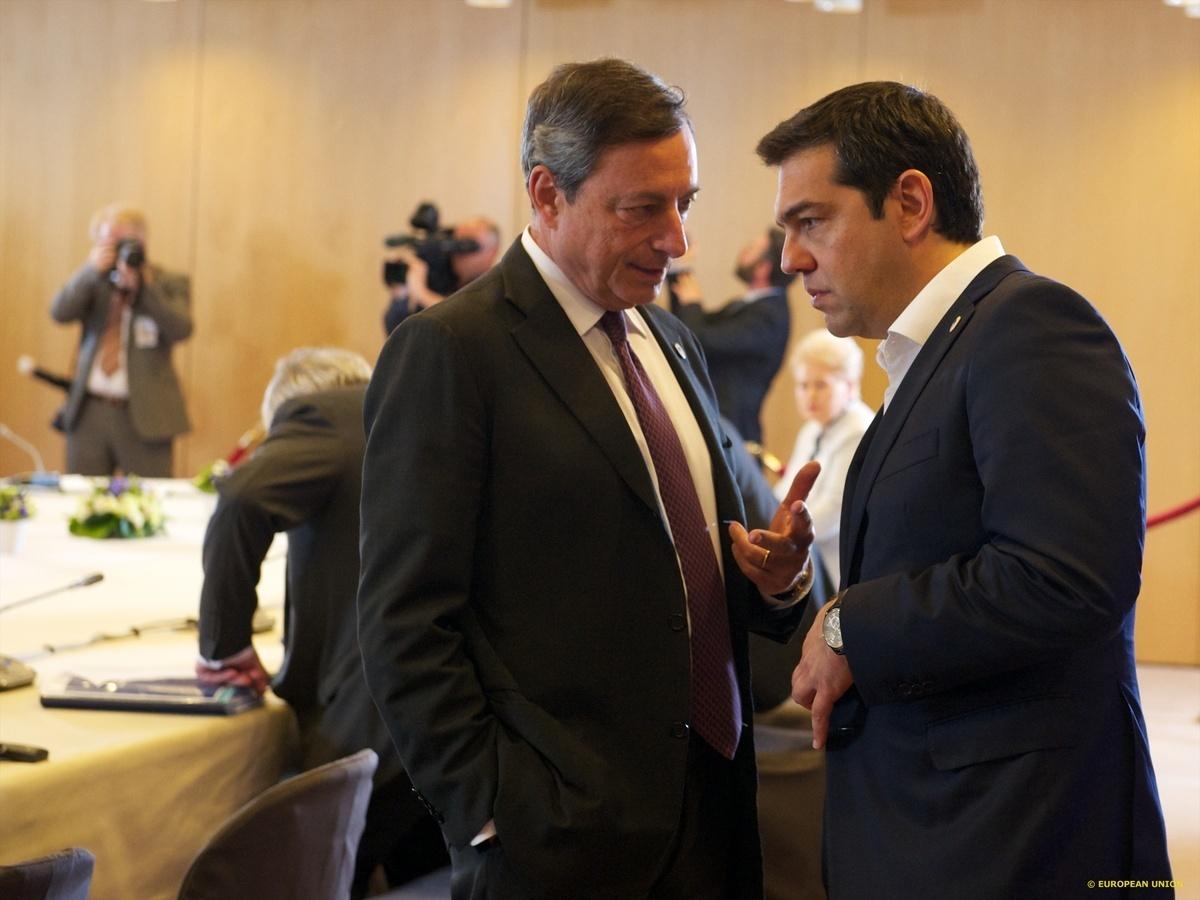 Η απάντηση του Μάριο Ντράγκι για τα capital controls στην Ελλάδα