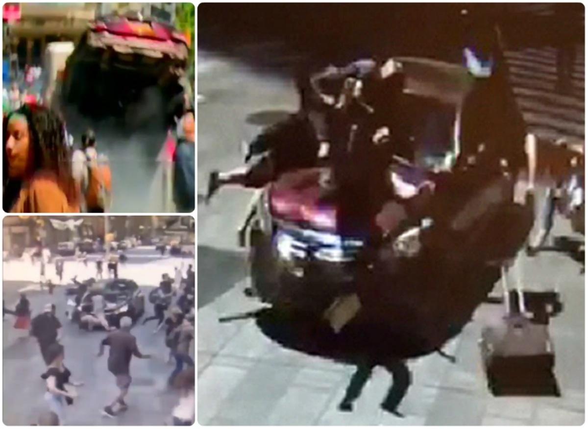 Νέα Υόρκη: Σοκ! Βίντεο δείχνουν τη στιγμή της τραγωδίας! Προσοχή, σκληρές εικόνες