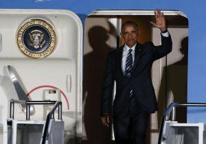 Ομπάμα: Επόμενος σταθμός το Βερολίνο! Δείτε την άφιξη του [vid]