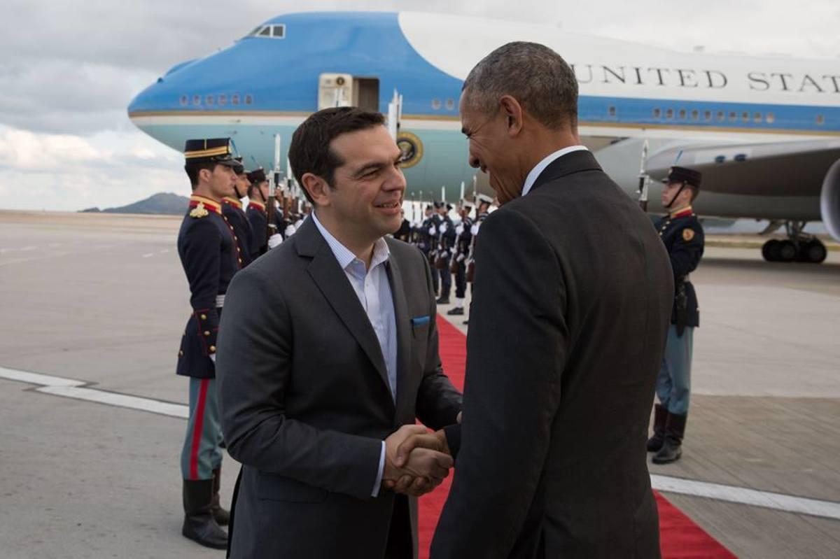 """Μπαράκ Ομπάμα: """"Ο μαύρος Περικλής"""" και ο """"παροχολόγος"""" Τσίπρας"""