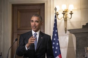"""Μπαράκ Ομπάμα: Έγραψε μόνος του την ομιλία για το """"Σταύρος Νιάρχος"""""""