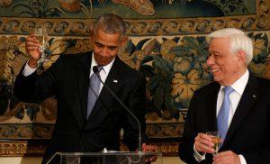 Ομπάμα στην Αθήνα: Μέσα στο Προεδρικό – Όσα δεν είδαμε