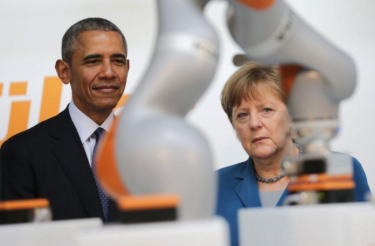 Τώρα ο Ομπάμα έχει να πει κάτι νέο στη Μέρκελ…