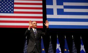 Ιστορική ομιλία Ομπάμα – Είπε: «Ζήτω η Ελλάς» και έκανε μαθήματα δημοκρατίας στον Τραμπ!