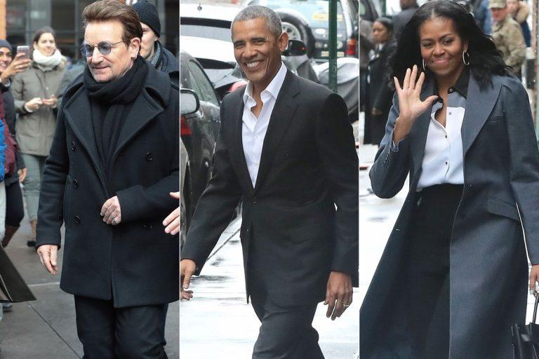 Όρθιοι και με κλάματα αποθεώσαν τους Ομπάμα! [vids, pics]