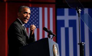 """Ομιλία Ομπάμα: Τριπλό """"καρφί"""" για τον Τραμπ από την Αθήνα!"""