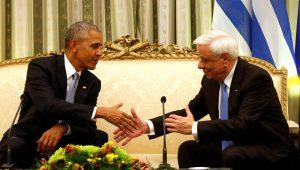 """Ομπάμα: Επικός διάλογος με Παυλόπουλο! """"Εδώ μένετε""""; [vid]"""