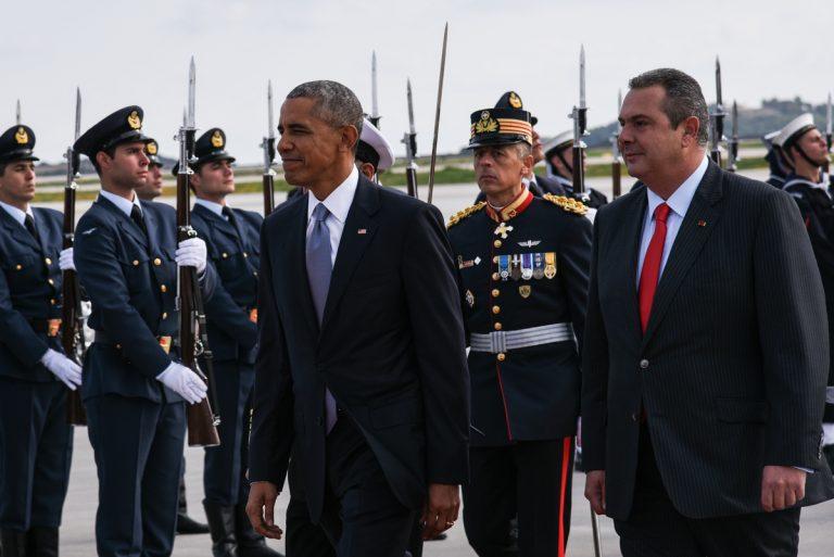 Ομπάμα στην Αθήνα: Το tweet του Καμμένου για το χρέος