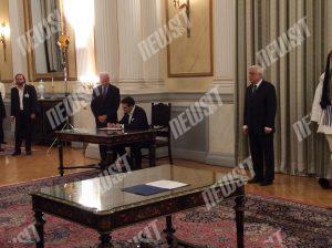 Νέα κυβέρνηση: Ορκίστηκε (ξανά) Πρωθυπουργός ο Αλέξης Τσίπρας (ΦΩΤΟ)