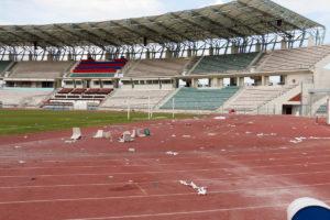 Κύπελλο Ελλάδας: Το ρήμαξαν! Πάνω από 300.000 ευρώ οι ζημίες στο Πανθεσσαλικό [pics]