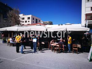 ΠΑΟΚ – ΑΕΚ: Η καφρίλα δεν έχει όρια! Οπαδοί φέσωσαν μαγαζιά στον Βόλο
