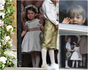 Σκέτη γλύκα! Τζορτζ και Σάρλοτ παρανυφάκια στο γάμο της Πίπα Μίντλετον [pics]