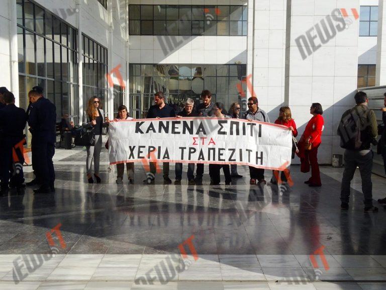 Με face control οι πλειστηριασμοί στο ειρηνοδικείο Αθηνών