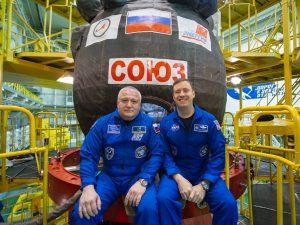Ο Πόντιος αστροναύτης πηγαίνει πάλι στο Διάστημα! [pics]