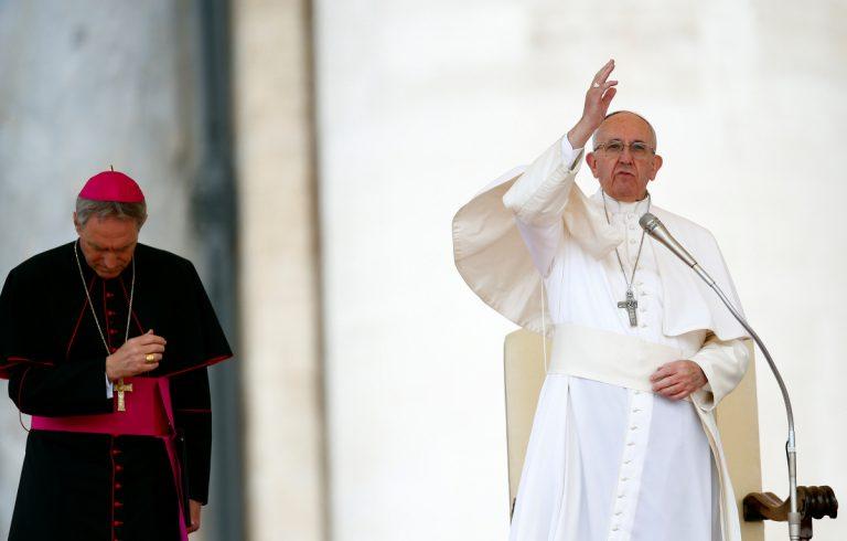 Έκκληση Πάπα Φραγκίσκου για σεβασμό των ανθρωπίνων δικαιωμάτων στη Βενεζουέλα