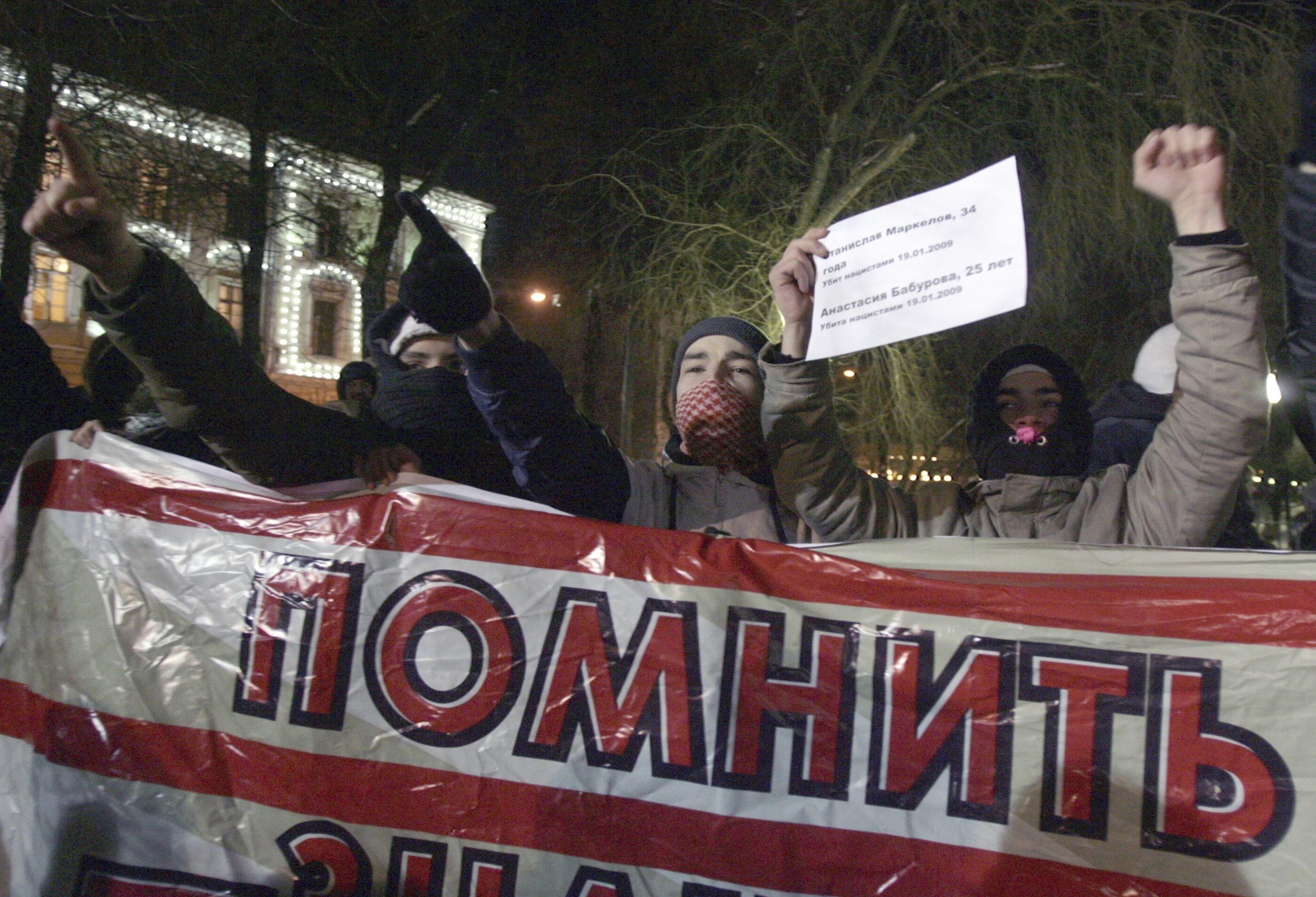 Πολλές συγκεντρώσεις διαμαρτυρίας γίνονται στη Ρωσία για τις επιθέσεις που δέχονται δημοσιογράφοι και πολλές φορές αποβαίνουν μοιραίες. ΦΩΤΟ REUTERS