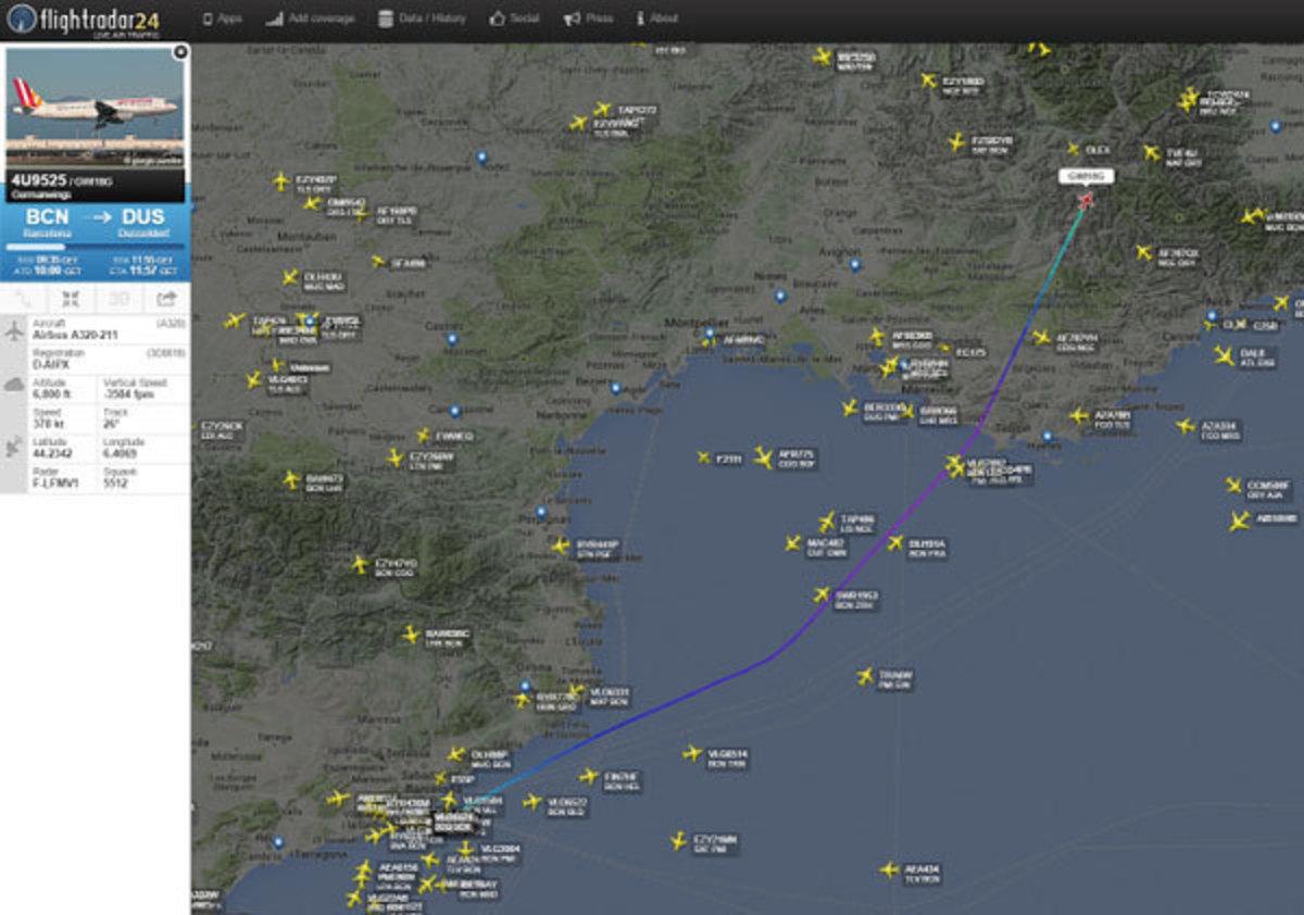 Συντριβή αεροπλάνου τύπου Airbus 320 στη Νότια Γαλλία – Ολάντ: Δεν υπάρχει κανένας επιζών από τους 148 επιβαίνοντες!