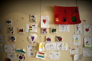 Ελληνικά μαθαίνουν τα προσφυγόπουλα του κέντρου φιλοξενίας προσφύγων στη Βέροια