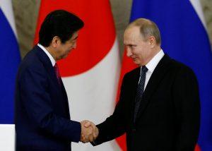Ιαπωνία – Ρωσία… συμμαχία! Συνομιλίες Πούτιν – Άμπε