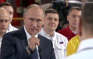 Η σύνταξη του Πούτιν και το… μυστήριο χόμπι του [pics]