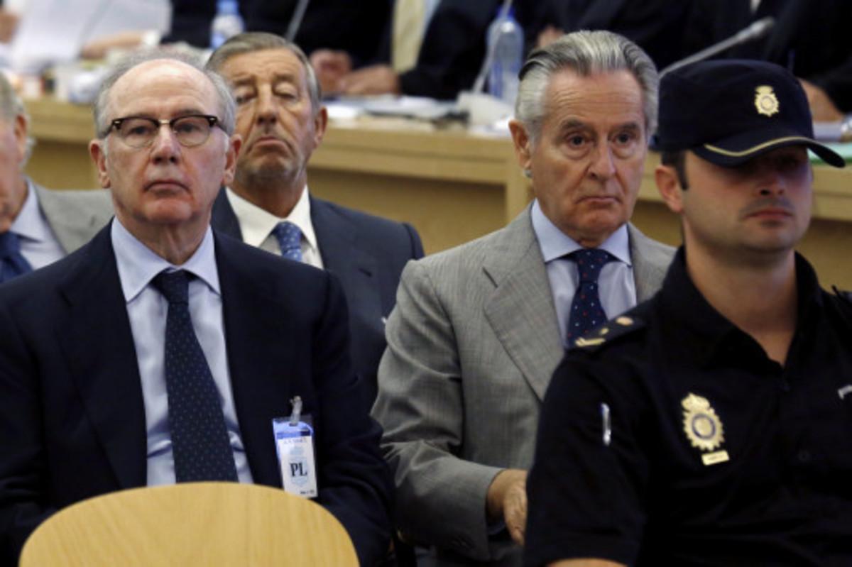 (Αριστερά) Ο Ροντρίγκο Ράτο κατά τη διάρκεια της δίκης ΦΩΤΟ REUTERS