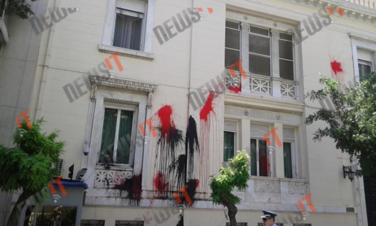 Βίντεο από την καταδρομική επίθεση του Ρουβίκωνα στην τουρκική πρεσβεία – Πώς έφτασαν σε απόσταση αναπνοής από το Μαξίμου