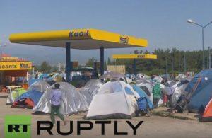 """Ειδομένη: Άδειασε ο καταυλισμός και… ζουν στο βενζινάδικο – Τζάκη: """"Είναι υγειονομική βόμβα που απενεργοποιήθηκε"""""""