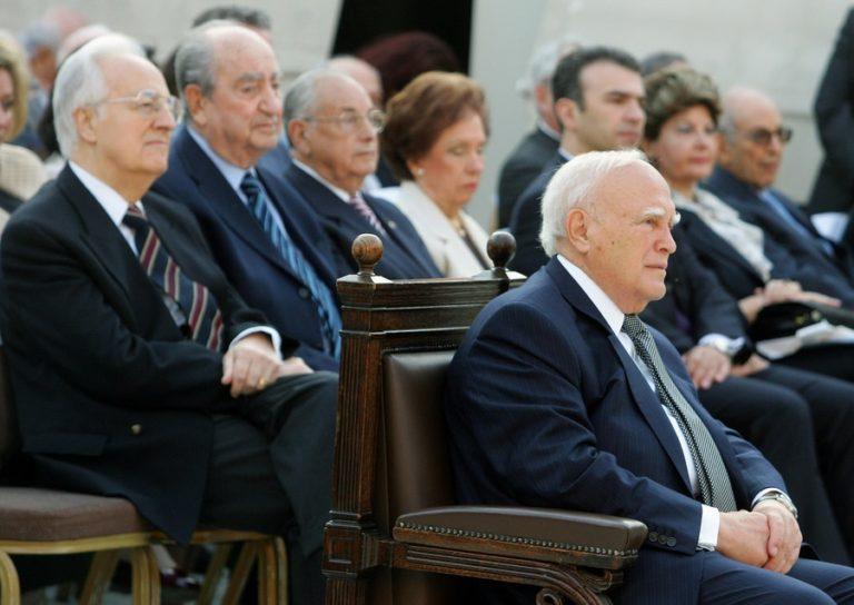 Χρήστος Σαρτζετάκης: Συλλυπητήρια του πρώην ΠτΔ για τον θάνατο του Κωνσταντίνου Μητσοτάκη
