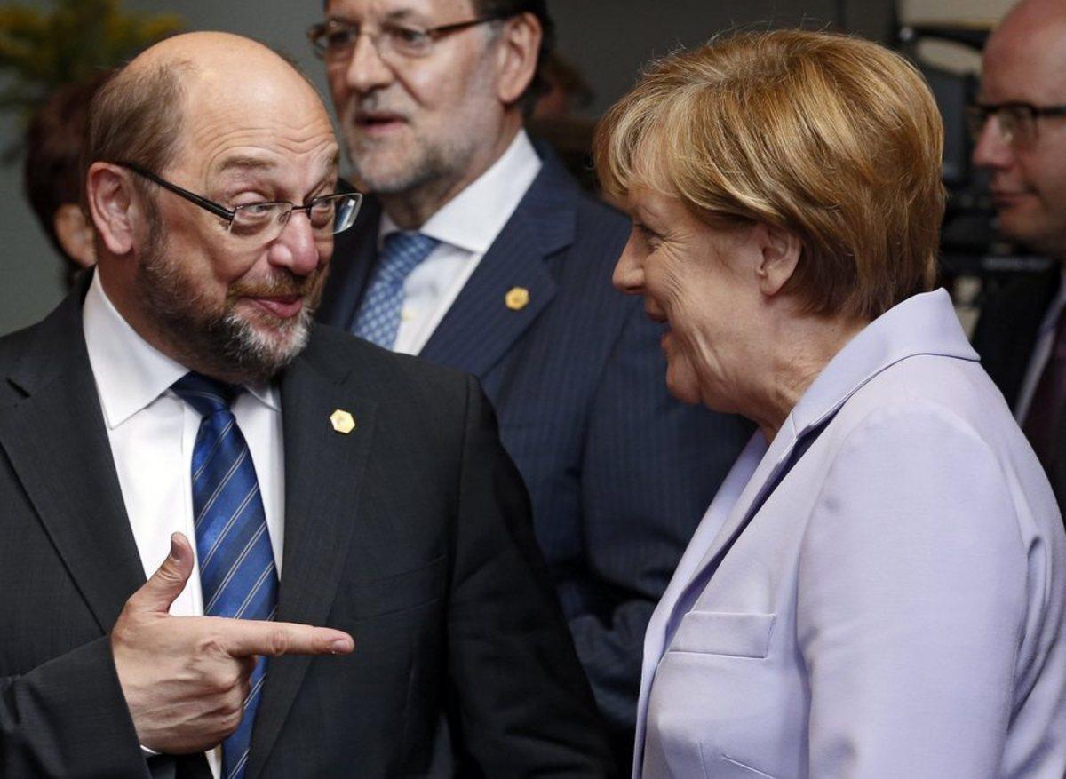 Ένας… λιγότερος για τη Μέρκελ: Δεν θα είναι υποψήφιος καγκελάριος ο Σουλτς