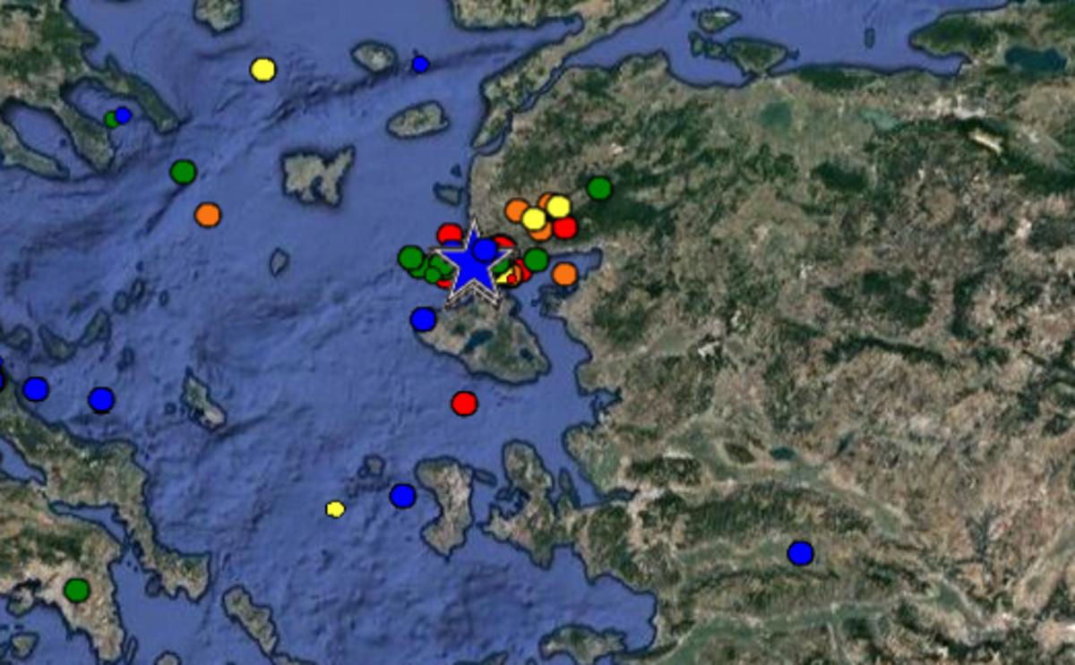 Σεισμός: Τρομάζει το ρήγμα της Λέσβου τους σεισμολόγους