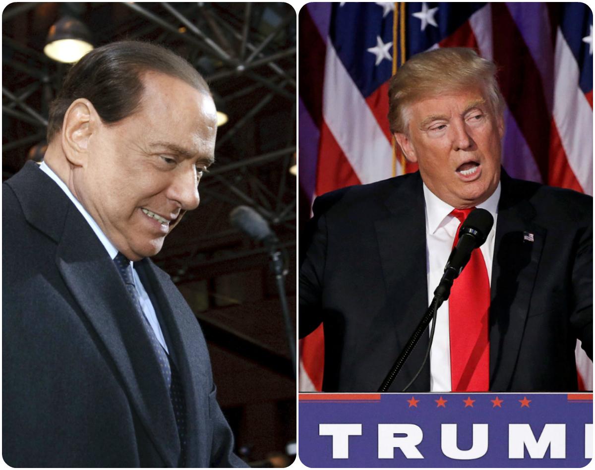 Μπερλουσκόνι για Τραμπ: Υπάρχουν «προφανείς αναλογίες» μεταξύ μας!