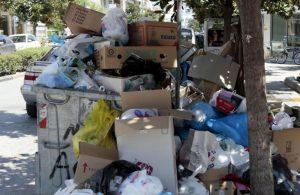 Καρδίτσα: Εργασίες υπογειοποίησης των κάδων στο κέντρο της πόλης