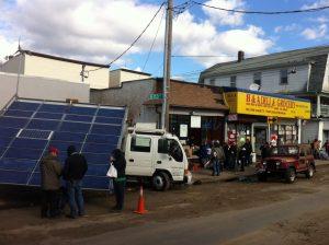 Το ηλιακό βανάκι στη Νέα Υόρκη της Sandy…