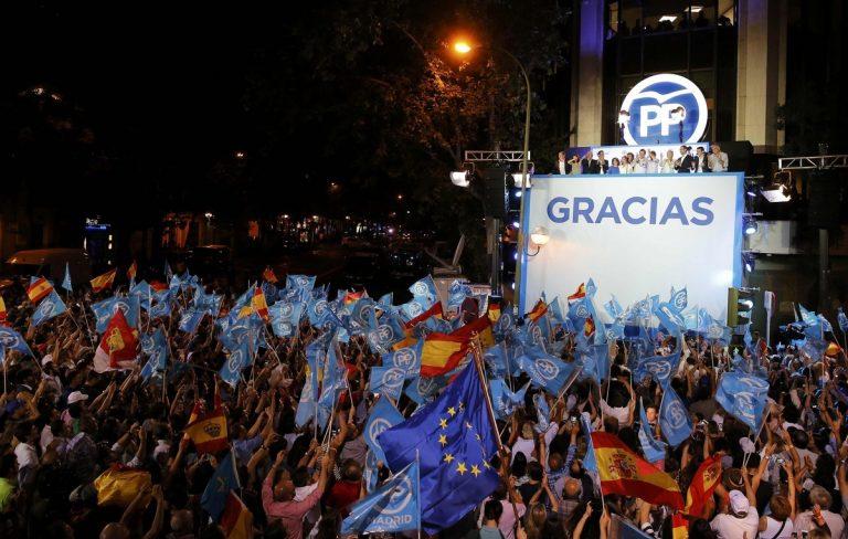 Ισπανία – Εκλογές: Στο ίδιο… θρίλερ θεατές! Πρώτο κόμμα η Δεξιά, καταποντίστηκαν οι Podemos – Ραχόι: Αφήστε με να κυβερνήσω