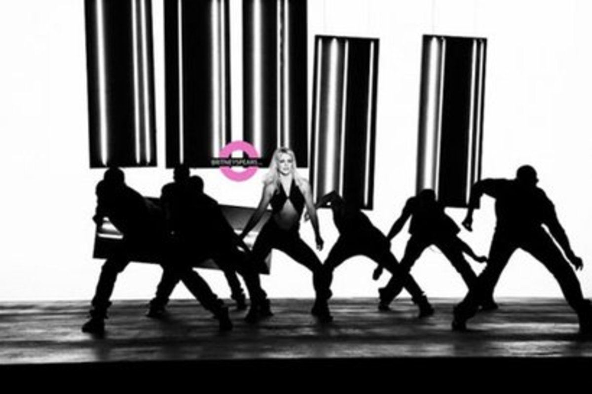 Σκηνή από το νέο videoclip της Spears