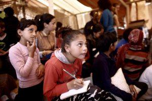 Το σχολείο της Ειδομένης για τα προσφυγόπουλα του καταυλισμού – ΦΩΤΟ