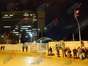 Επίσκεψη Ομπάμα: Διαμαρτυρία του ΠΑΜΕ για την απαγόρευση των διαδηλώσεων [pics]