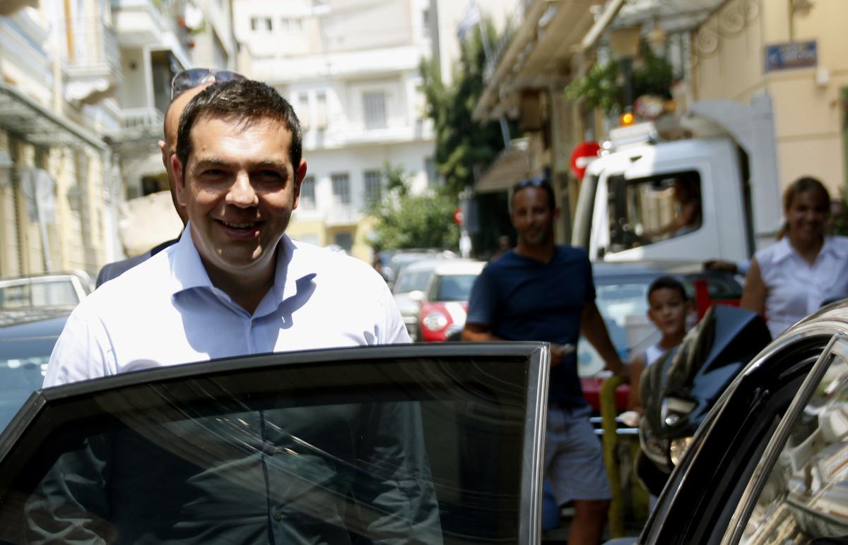 Η πρώτη προεκλογική συνέντευξη του Αλέξη Τσίπρα