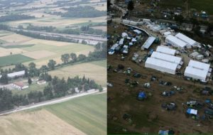 Η Ειδομένη πριν… και μετά την επιχείρηση! Εντυπωσιακές φωτογραφίες