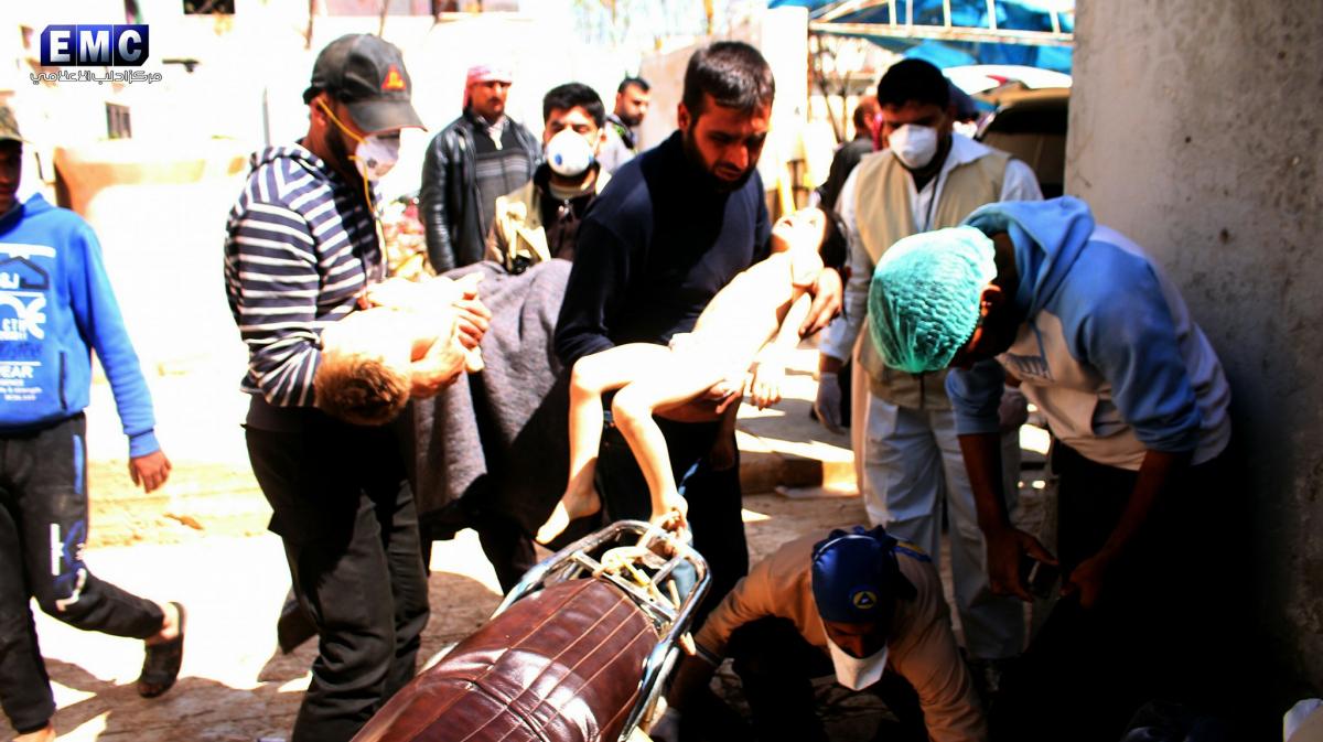 Έγκλημα χωρίς τιμωρία! Βομβάρδισαν με χημικά την Ιντλίμπ – Σκότωσαν γυναίκες και παιδιά – Φόβοι για 100 νεκρούς