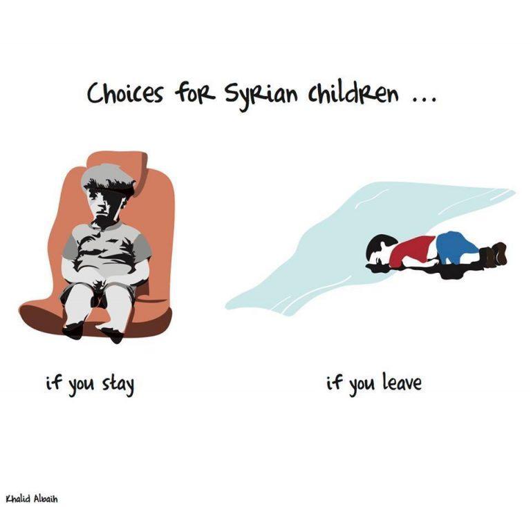 Από τον Αϊλάν στον Ομράν… η ελπίδα πεθαίνει στη Συρία