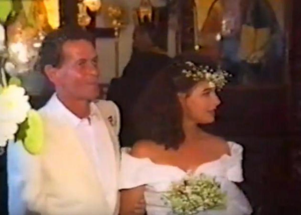 Αλέξης Μάρδας: Ο γάμος του με την ηθοποιό Τάνια Τρύπη το 1993 [vid]
