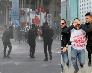 Χημικά και ξύλο στην πλατεία Ταξίμ! Πληροφορίες για 200 συλλήψεις!