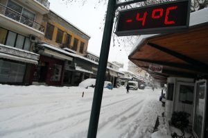 Καιρός: Πολικές θερμοκρασίες σε όλη τη χώρα και… λίγα χιόνια!