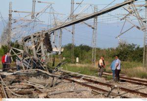 """Εκτροχιασμός τρένου: """"Θα διερευνηθούν όλοι οι παράγοντες για το δυστύχημα"""""""