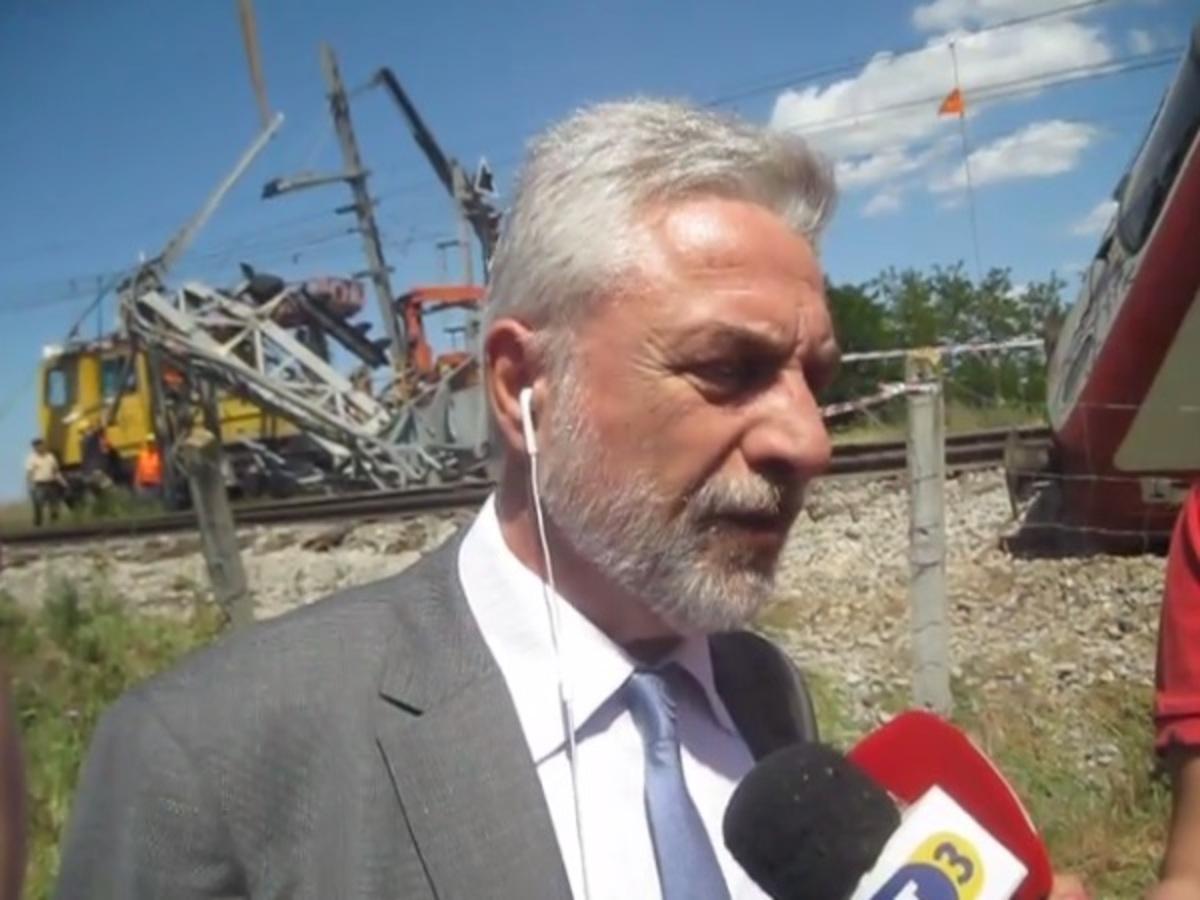 Εκτροχιασμός τρένου στη Θεσσαλονίκη: Τι δήλωσε ο διευθύνων σύμβουλος της ΤΡΑΙΝΟΣΕ