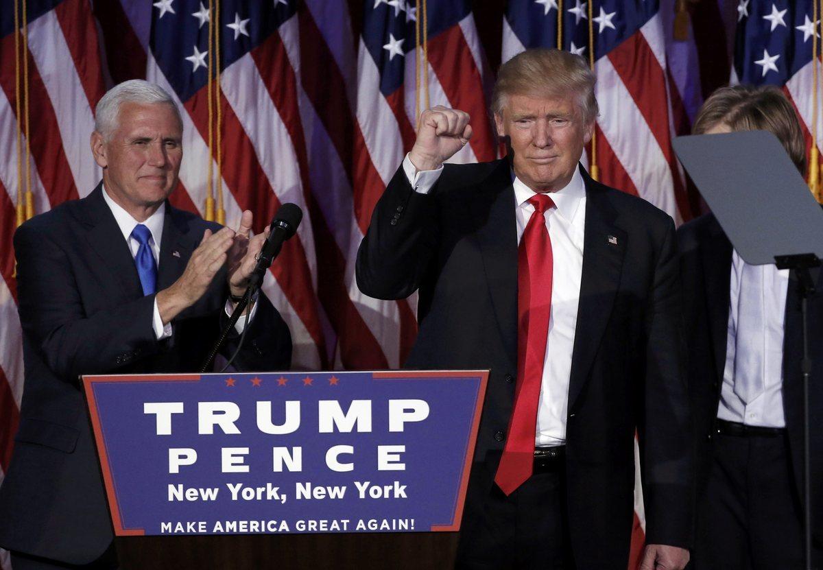 Όταν ο Τραμπ άφησε τον Ντόναλντ κι έγινε πρόεδρος των ΗΠΑ [pics, vids]