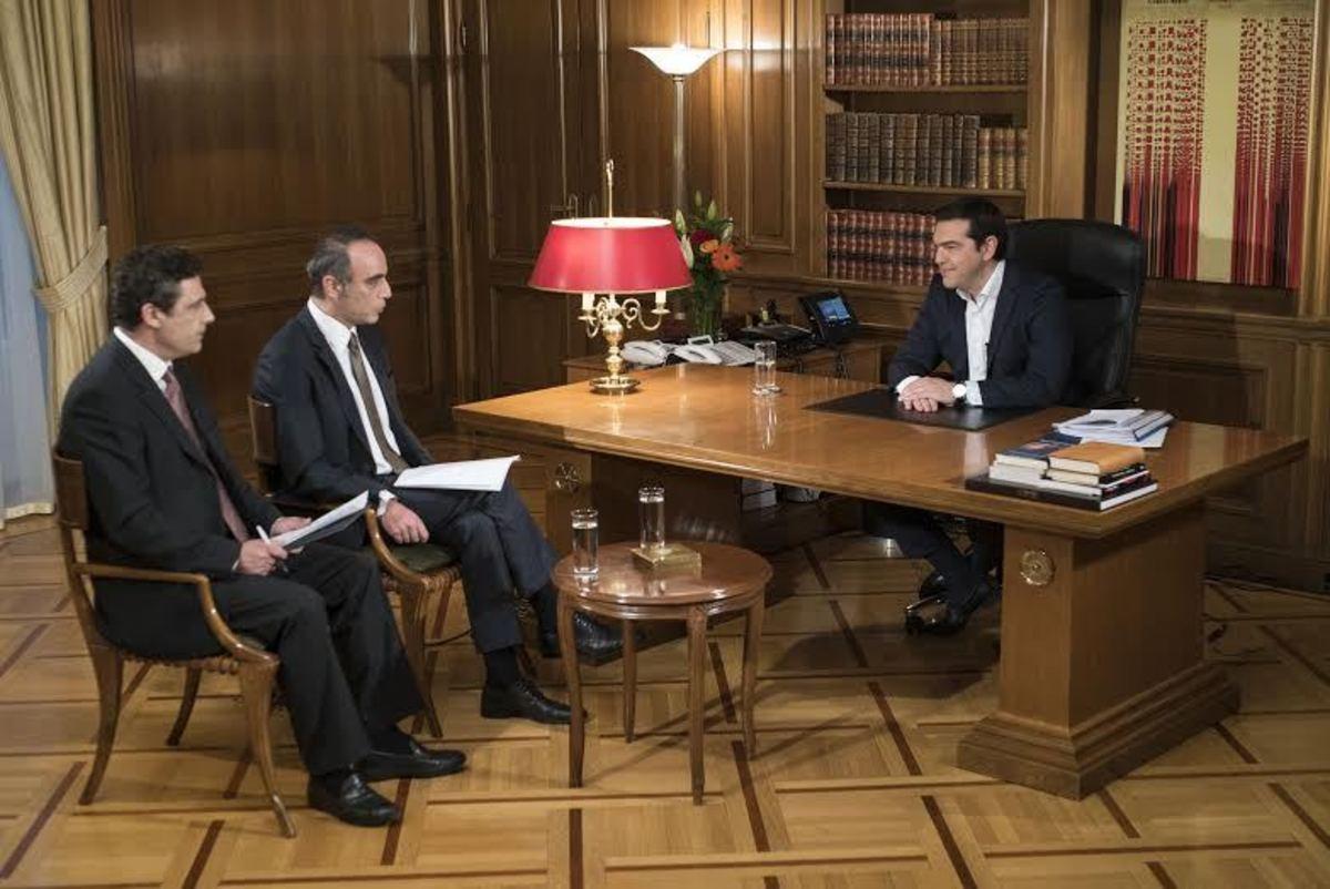 Συνέντευξη Αλέξη Τσίπρα στην ΕΡΤ: Πρώτα η ψήφιση των μέτρων και μετά εκλογές εάν δεν έχω πλειοψηφία – Αν με ρίξετε εξυπηρετείτε το σχέδιο Σόιμπλε