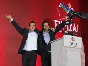 Εκλογές 2015 – ΣΥΡΙΖΑ: Με τον ηγέτη των Podemos η κεντρική συγκέντρωση