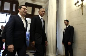 Ομπάμα στα ελληνικά: Kalispera!
